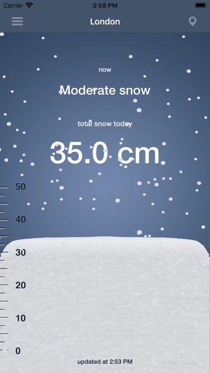 Snow today screenshot-3