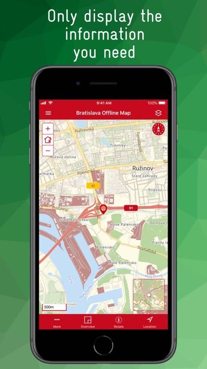 Bratislava Offline Map screenshot-3