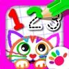 画画游戏宝宝教育儿童游戏少儿学数字学习绘画3-6岁画图小孩子