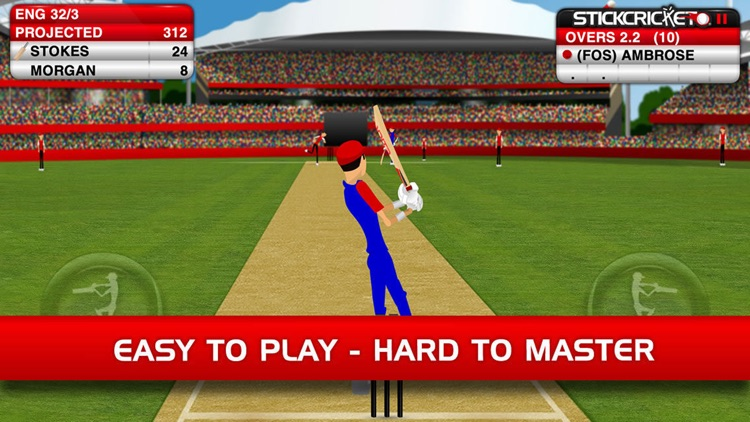 Stick Cricket Classic screenshot-2