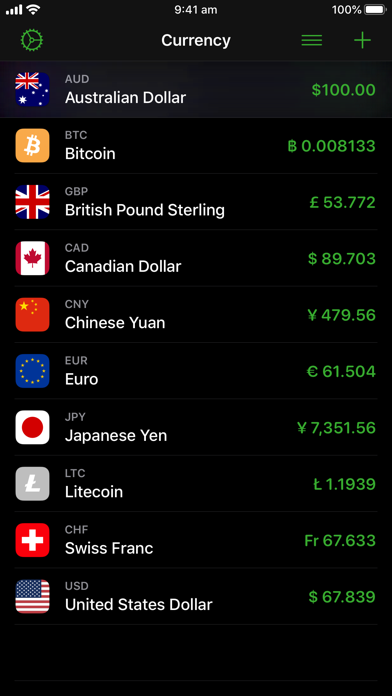 Currency screenshot four