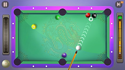 One Shot Pool screenshot 1
