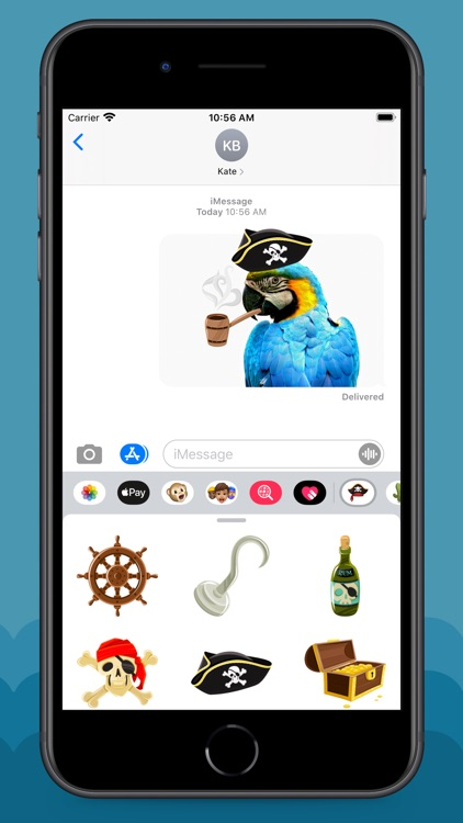 Pirate Life Stickers screenshot-6