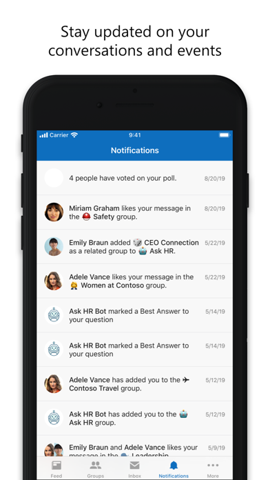 Yammer ScreenShot6