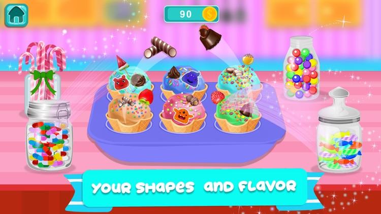 Cone Ice Cream Cupcake Baker screenshot-3