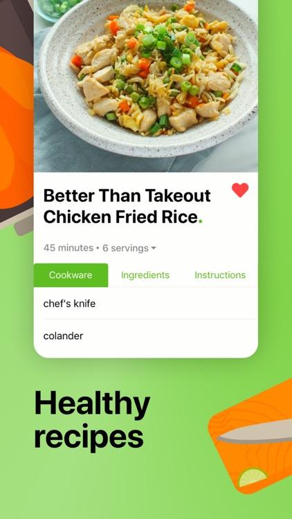 Mealime Meal Plans & Recipes screenshot-0