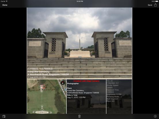 MapCamera: Add Map to Photo Screenshots