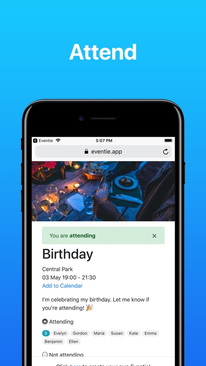 Eventie: Create Events screenshot-2