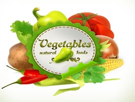 The VegetablesNVT is a small sticker, which are show the 30 Vegetables NVT sticker in cartoon