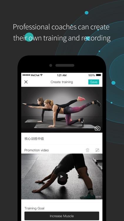Again-Fitness platform