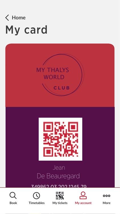 Thalys - International trains screenshot-3