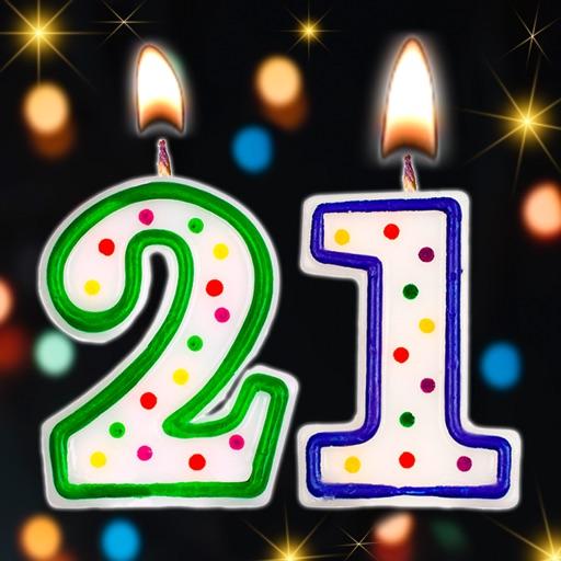Happy birthday virtual candles