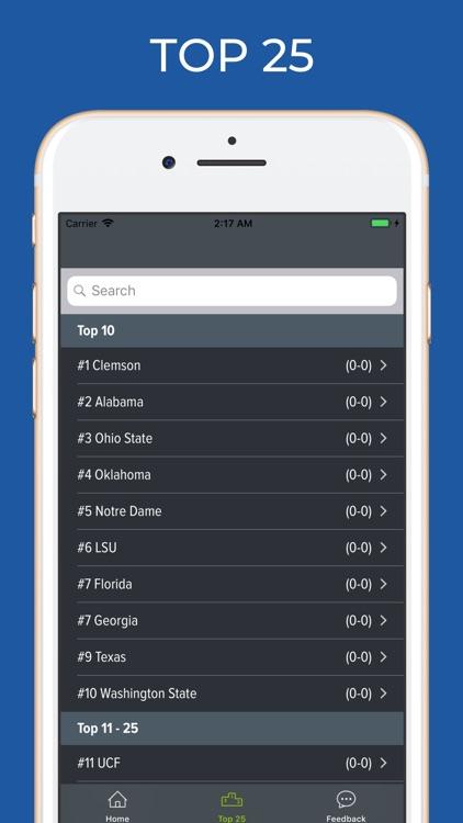 Texas Tech Football Schedules screenshot-4