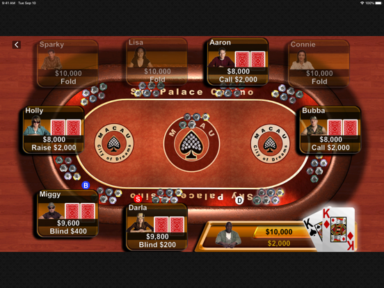 Texas Hold'em screenshot 10