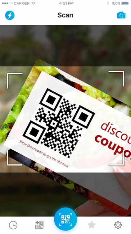 QR code reader, QR scanner screenshot-0