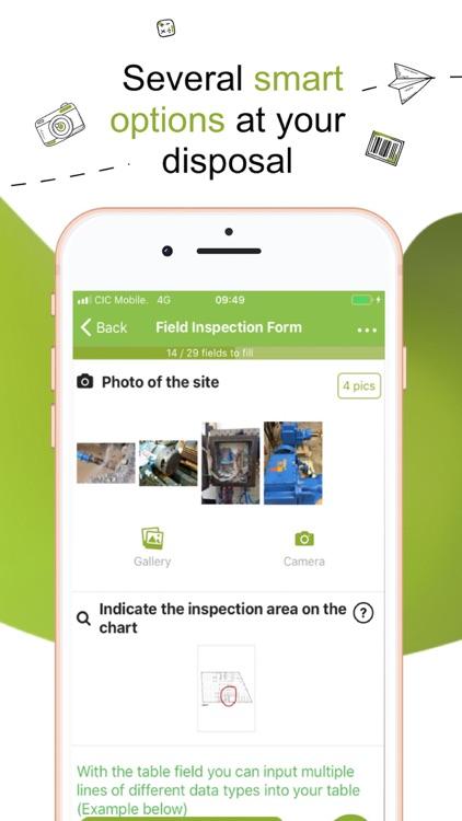 Kizeo Forms, Mobile forms screenshot-4