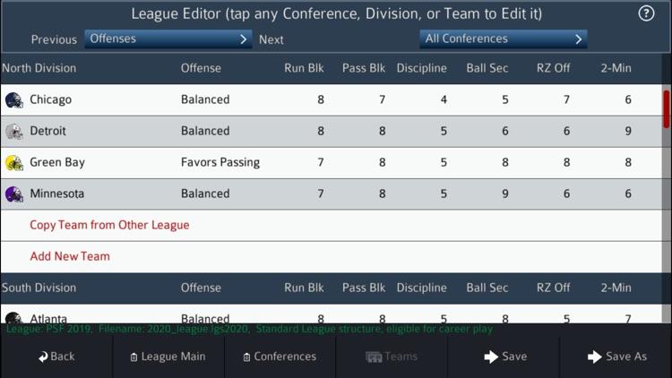 Pro Strategy Football 2020 screenshot-8