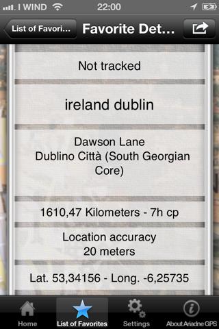 Ariadne GPS - náhled