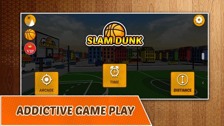 Slam Dunk - Basket Hoops Game