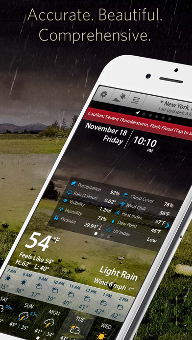 Screenshot for Weather Mate Pro - Forecast in United States App Store