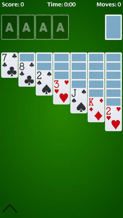 Solitaire - free cell. screenshot one