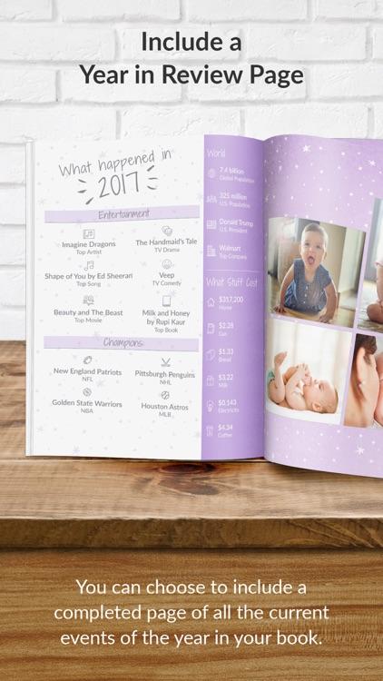 TreeRing Baby Book Memories screenshot-4