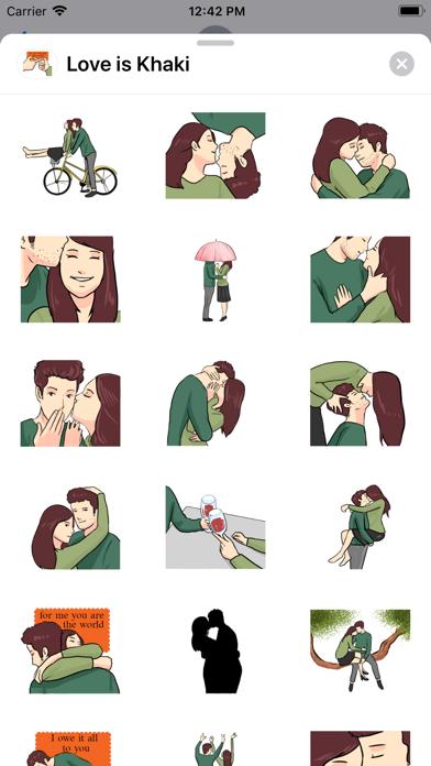 Love is Khaki screenshot 1