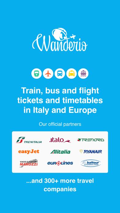 Screenshot #1 pour Wanderio – Train, Flight, Bus