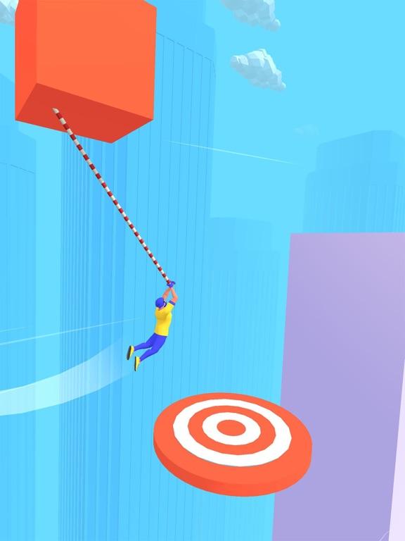 Rope Swing 3D screenshot 9