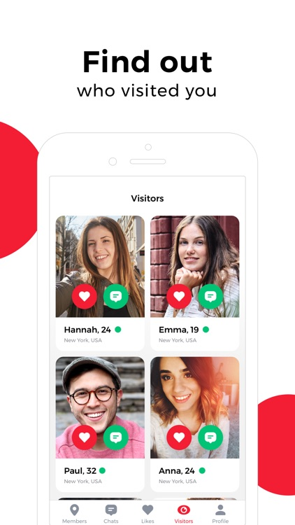 uDates: meet new people & chat