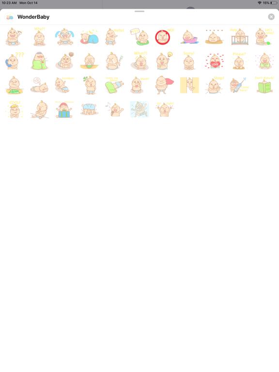 Screenshot #4 pour Wonder baby sticker
