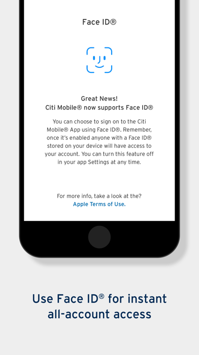 Citi Mobile® by Citibank (iOS, United States) - SearchMan App Data