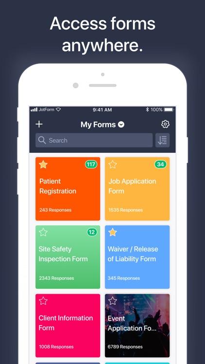 JotForm Mobile Forms & Surveys screenshot-3