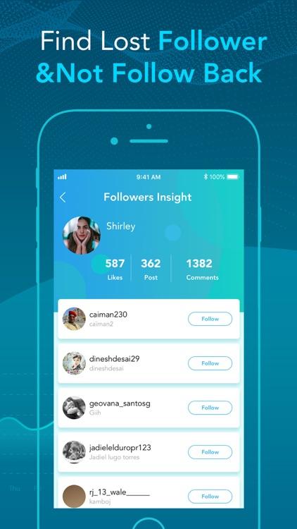 Followers & Unfollow Insights