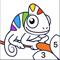 App Icon for Chamy - Malebog & Farve Spil App in Denmark IOS App Store