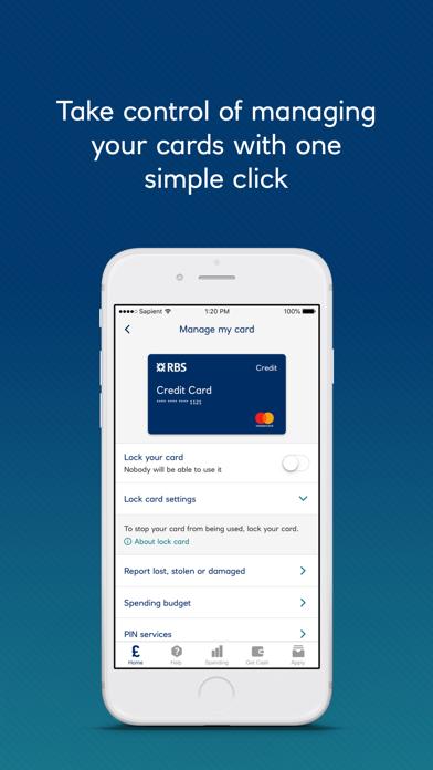 Royal Bank of Scotland screenshot three