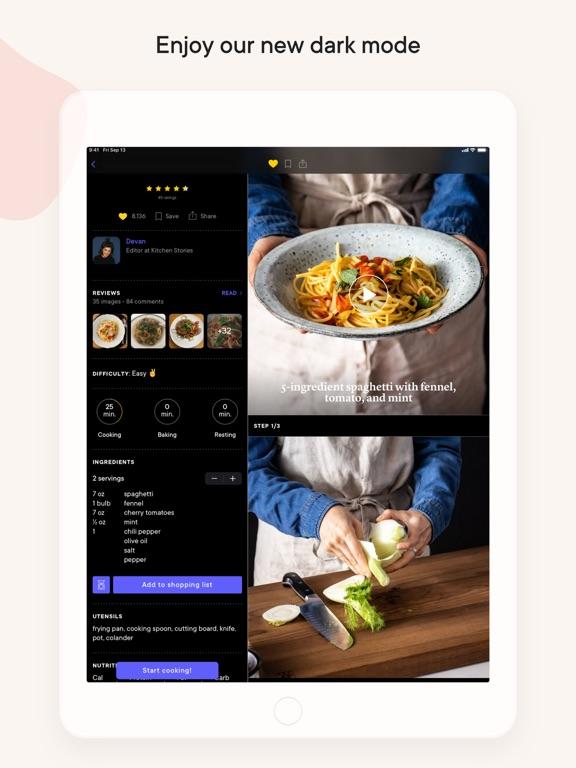 Kitchen Stories: tasty recipes iPad app afbeelding 7