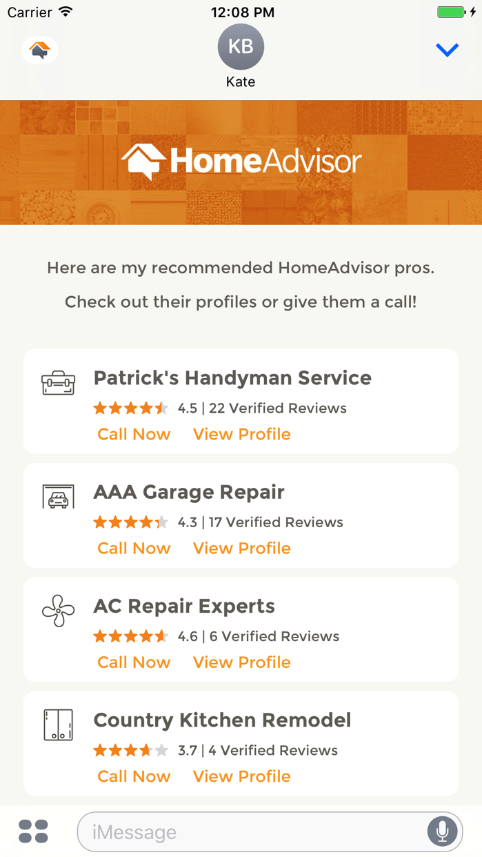 HomeAdvisor: Find a Contractor - Revenue & Download