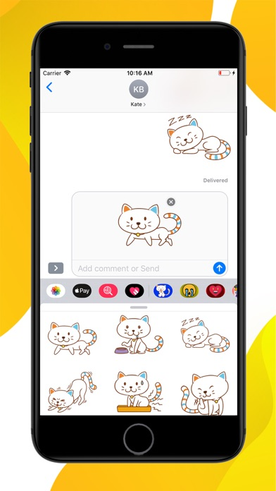 Cat Emoji Sticker screenshot 3