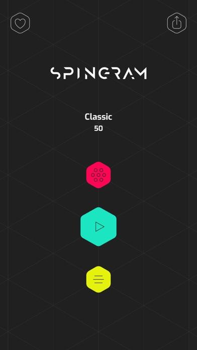 Spingram - logic puzzleのおすすめ画像6