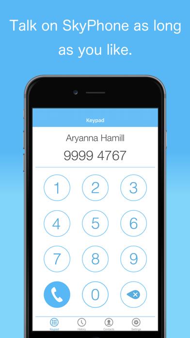 SkyPhone - Voice & Video Calls screenshot four