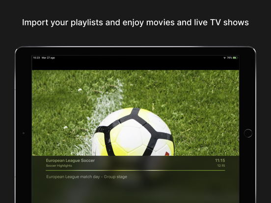 Streeme: IPTV Streaming Screenshots