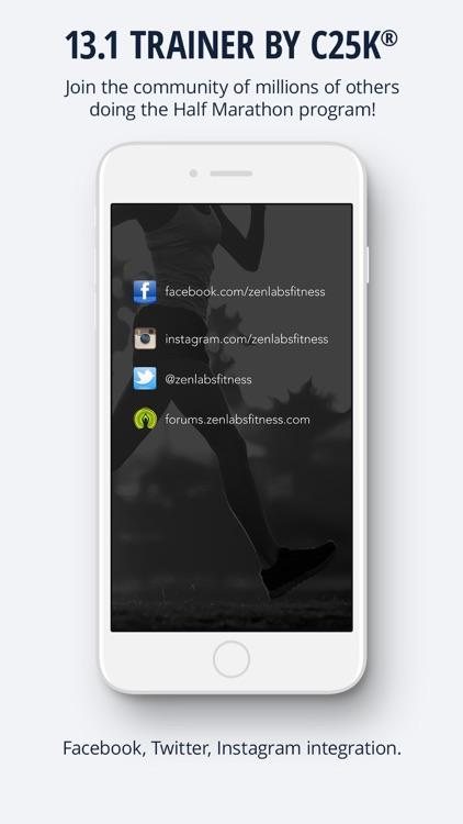 13.1 Half Marathon Trainer screenshot-3