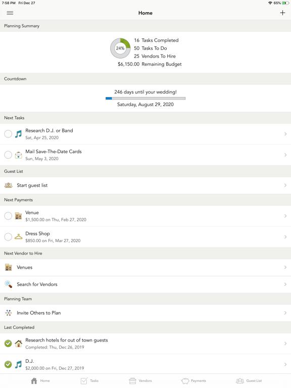 WeddingHappy - Wedding Planner screenshot