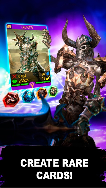 Heroes of Asgard: CCG-Arena screenshot-3