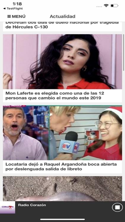 Radio Corazón Chile screenshot-4