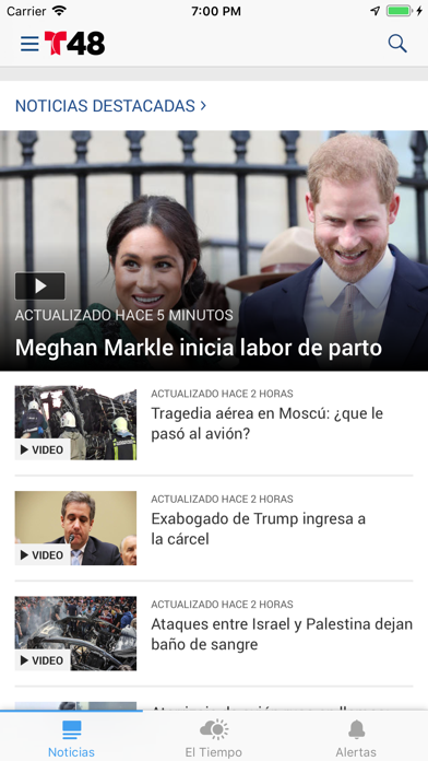 Telemundo 48 El Paso screenshot 1