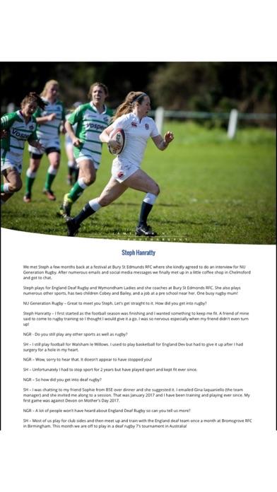 NU Generation Rugby Magazine screenshot 5