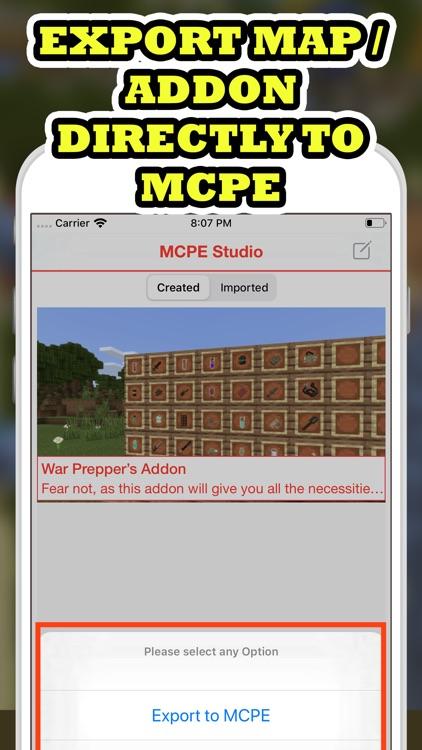 MCPE Mod Master For Minecraft screenshot-3