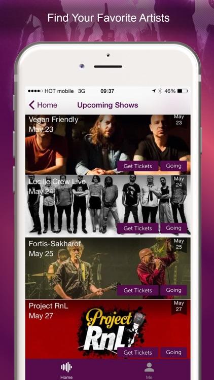 ClipAisle - Live Music screenshot-4